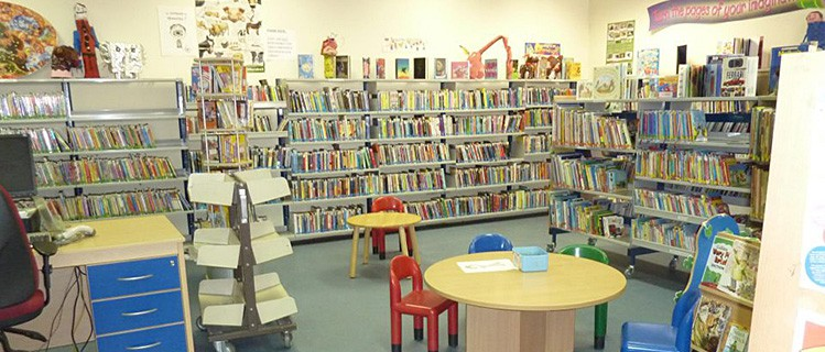 Inside Monaghan Town Library