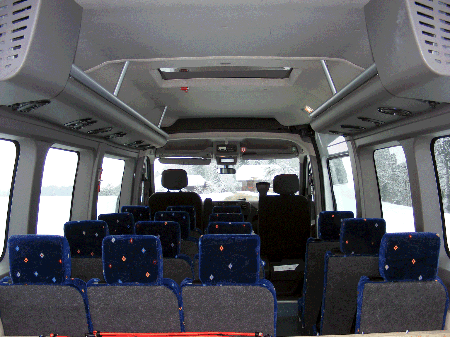 Bus-Innenraum