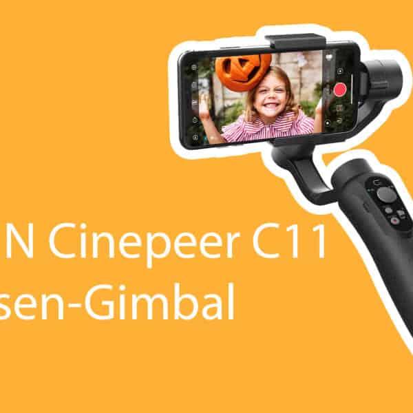 ZHIYUN Cinepeer C11 3-Achsen Smartphone-Gimbal zum Hammerpreis!