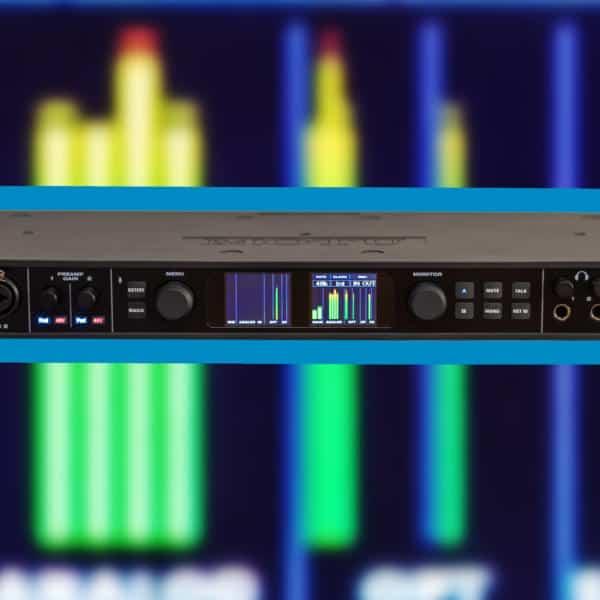 MOTU 828es - das richtige Audiointerface für das Home Studio