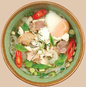 Vietnamese TRUFFLE PHO KAMPONG CHICKEN SPECIAL by NamNam Jakarta