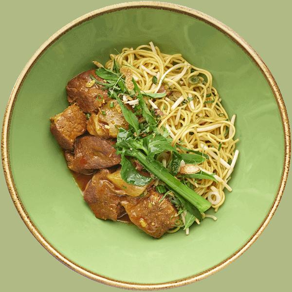 Vietnamese Braised Australian Beef Yellow Noodles