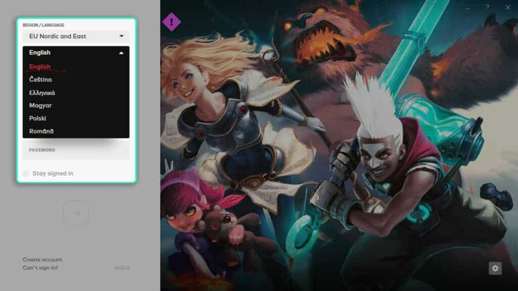 How to change League of Legends Language and voiceover in the new Riot Games Launcher
