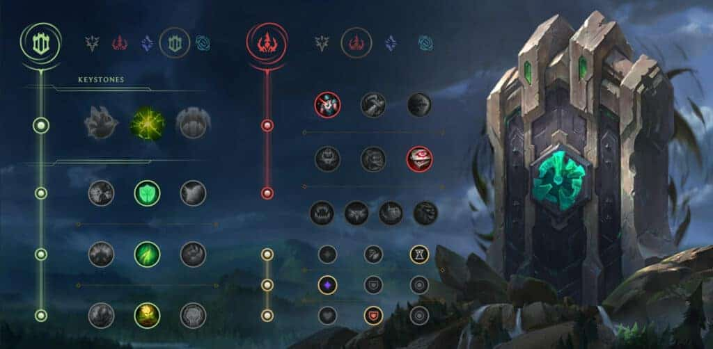 Fiddlesticks rework - New rune page