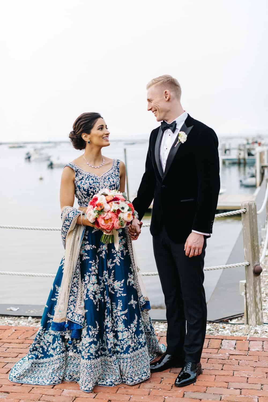 Nantucket Wedding Formal Portraits of the Bride and Groom
