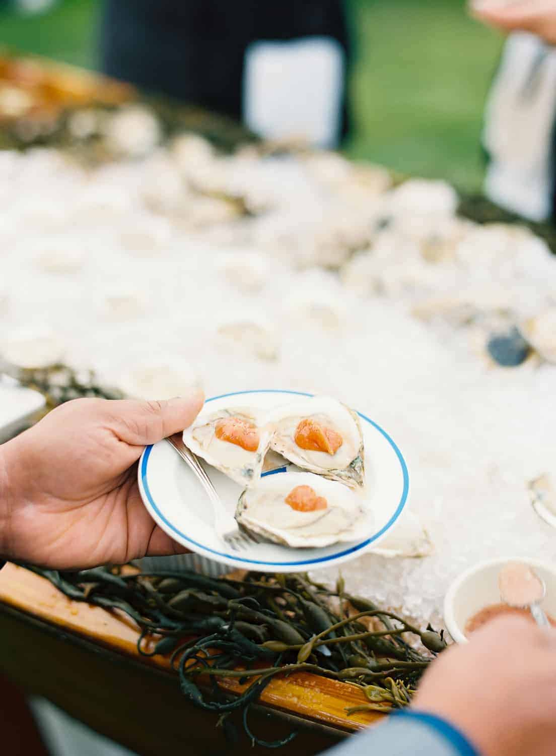 Nantucket Wedding at Great Harbor Yacht Club Cocktail Hour