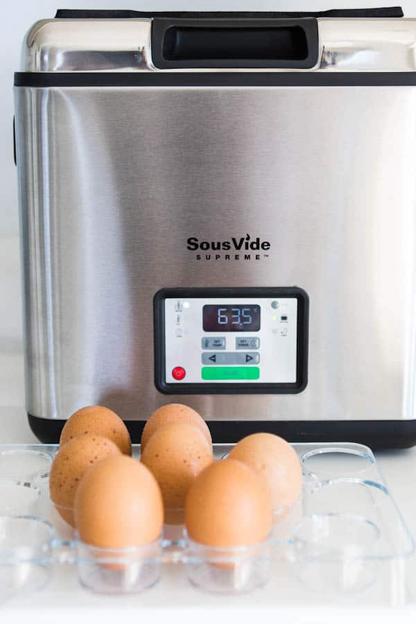 SVS: Slow Cooked Eggs