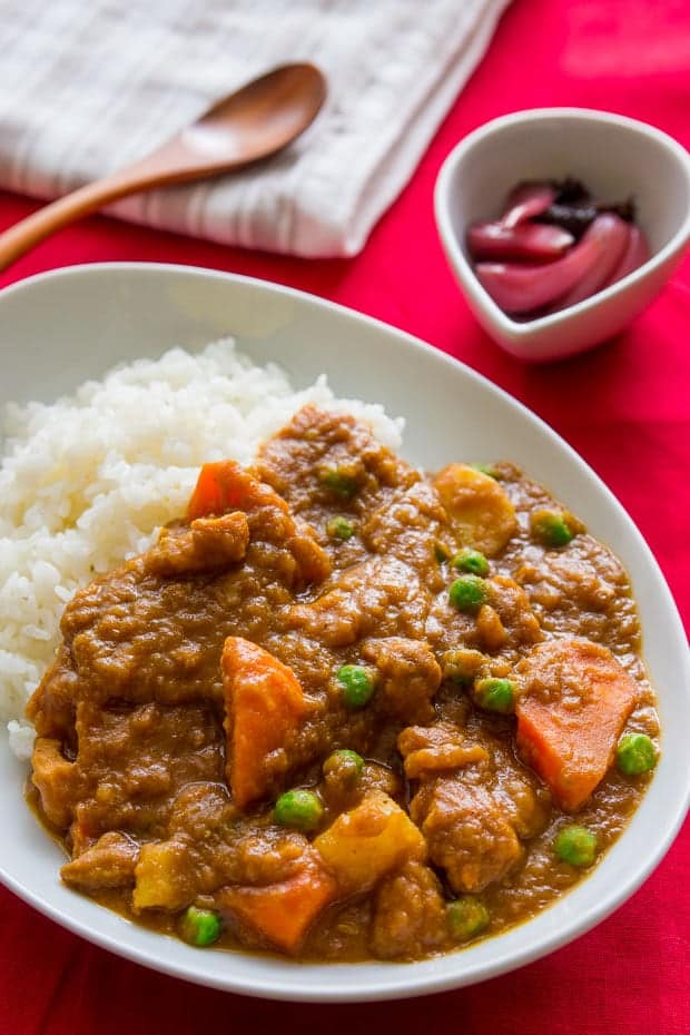 Japanese Curry Rice Recipe (video)