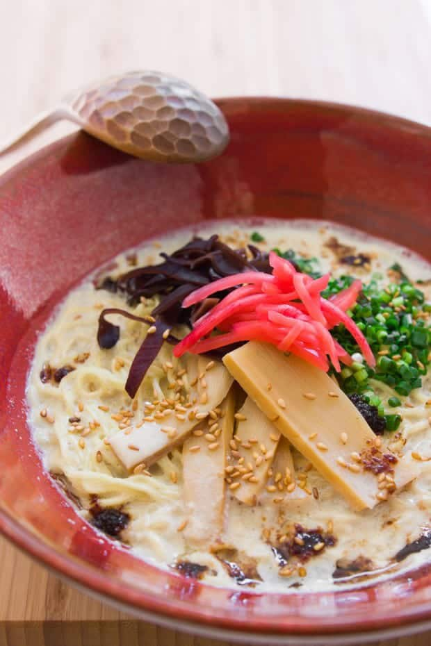 Vegan Tonkotsu Ramen