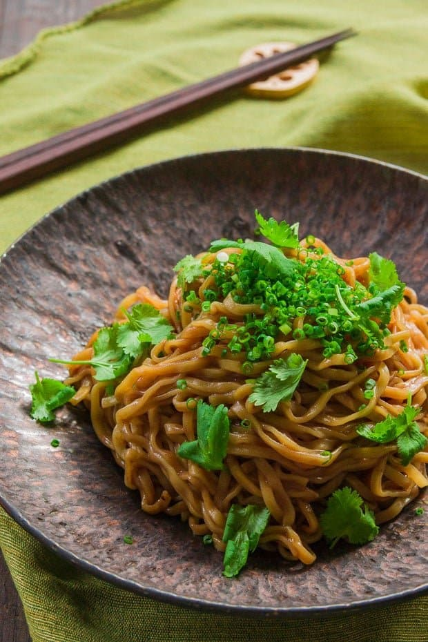 Triple Garlic Noodles