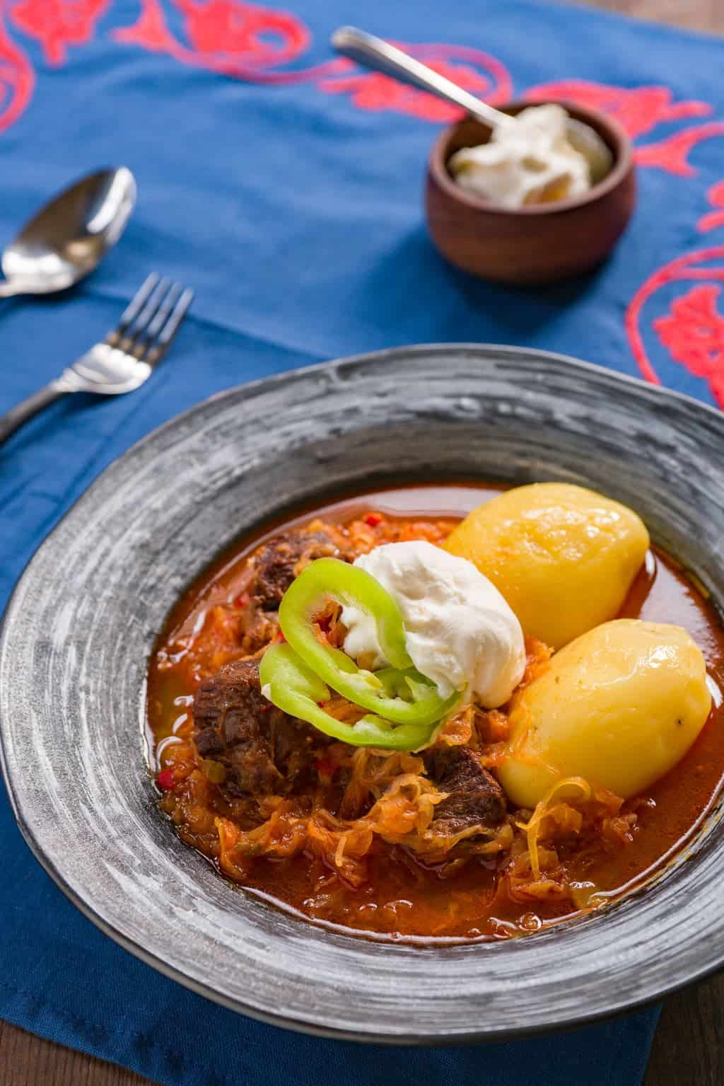 Csángó gulyás is a wonderfully balanced Goulash in the style of the Csángó people, perfect for winter.