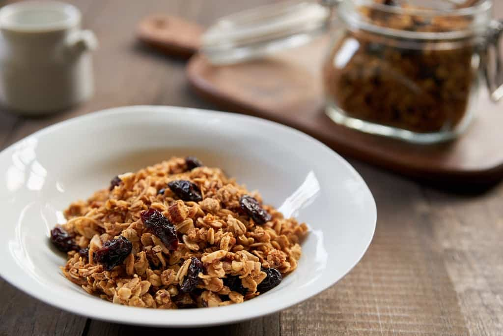 Save yourself some money and make this fancy Cherry Vanilla Granola at home.