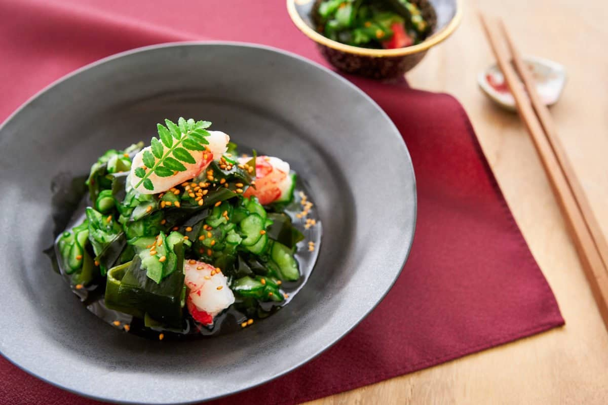 Sunomono (Japanese Cucumber Salad)