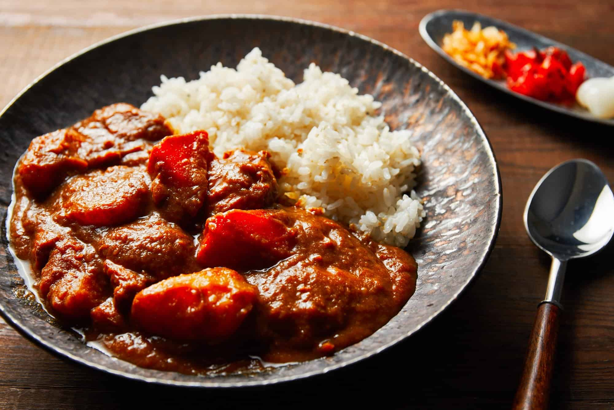 With melt-in-your mouth chunks of chicken, carrots and potatoes, this Japanese Curry from Scratch is the perfect hearty meal for a big group.