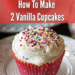 vanilla cupcakes | one dish kitchen