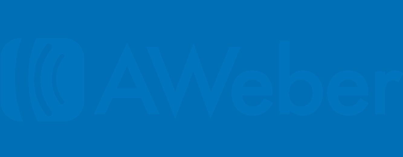 Aweber Logo - OnSpot Social App