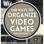 Organize Video Games