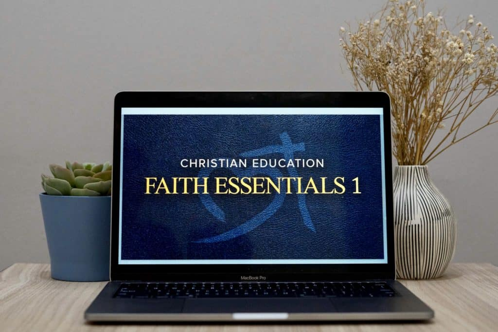 With everyone staying home, we launched our Christian Education online training portal.