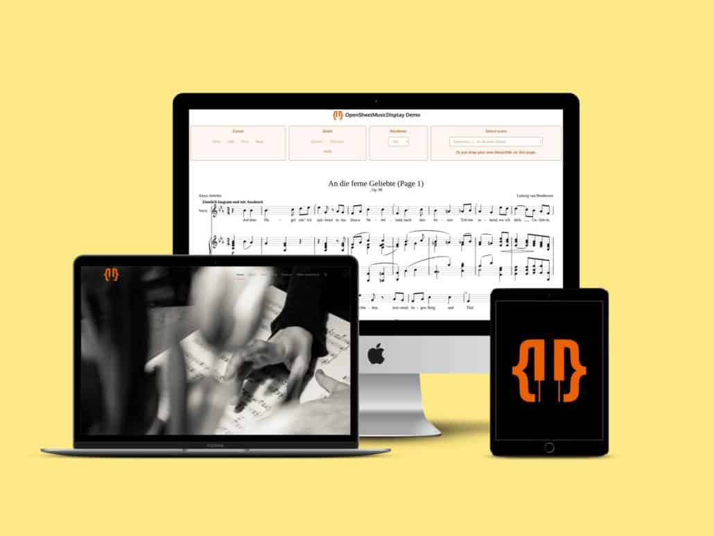 Open Sheet Music Display Software Bibliothek