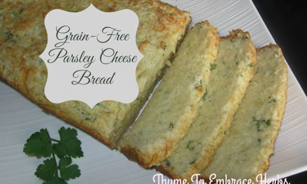 Grain-Free Parsley Cheese Bread