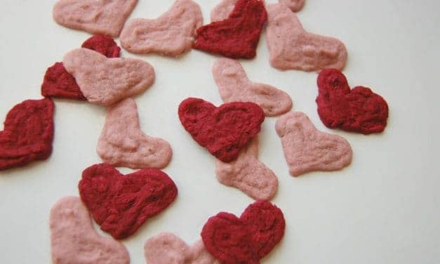 Coconut Berry Hearts