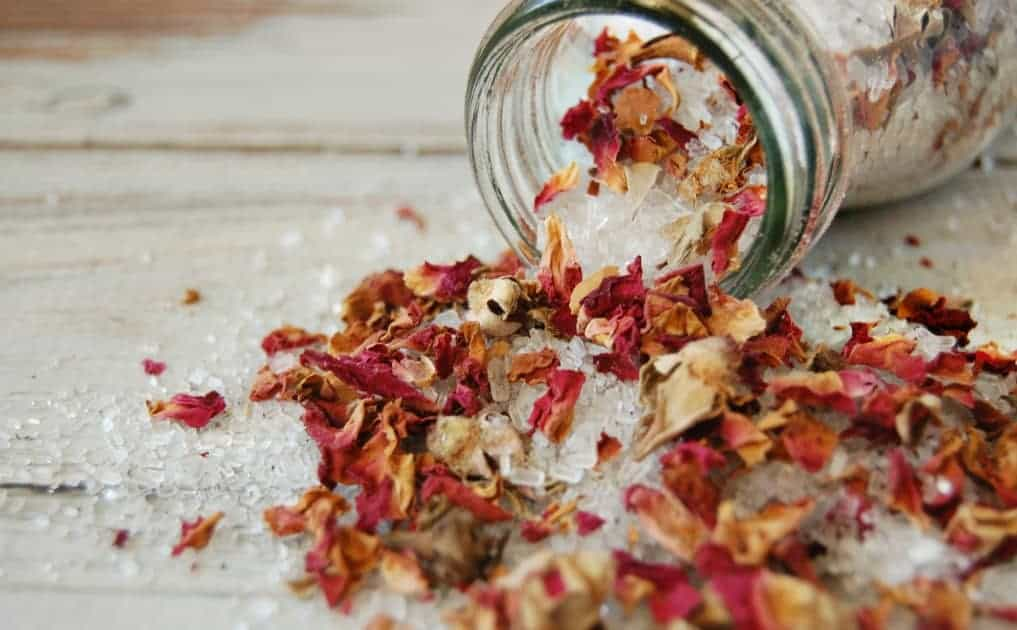 Rose Cardamom Bath Salts