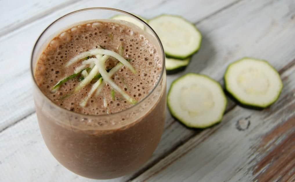 Chocolate Zucchini Bread Smoothie
