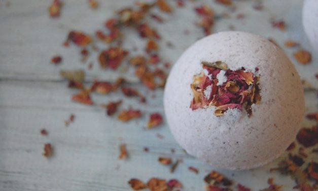 Rose Cardamom Bath Bombs