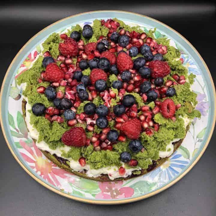 Moss Cake Recipe - Polish Spinach Cake With Mascarpone