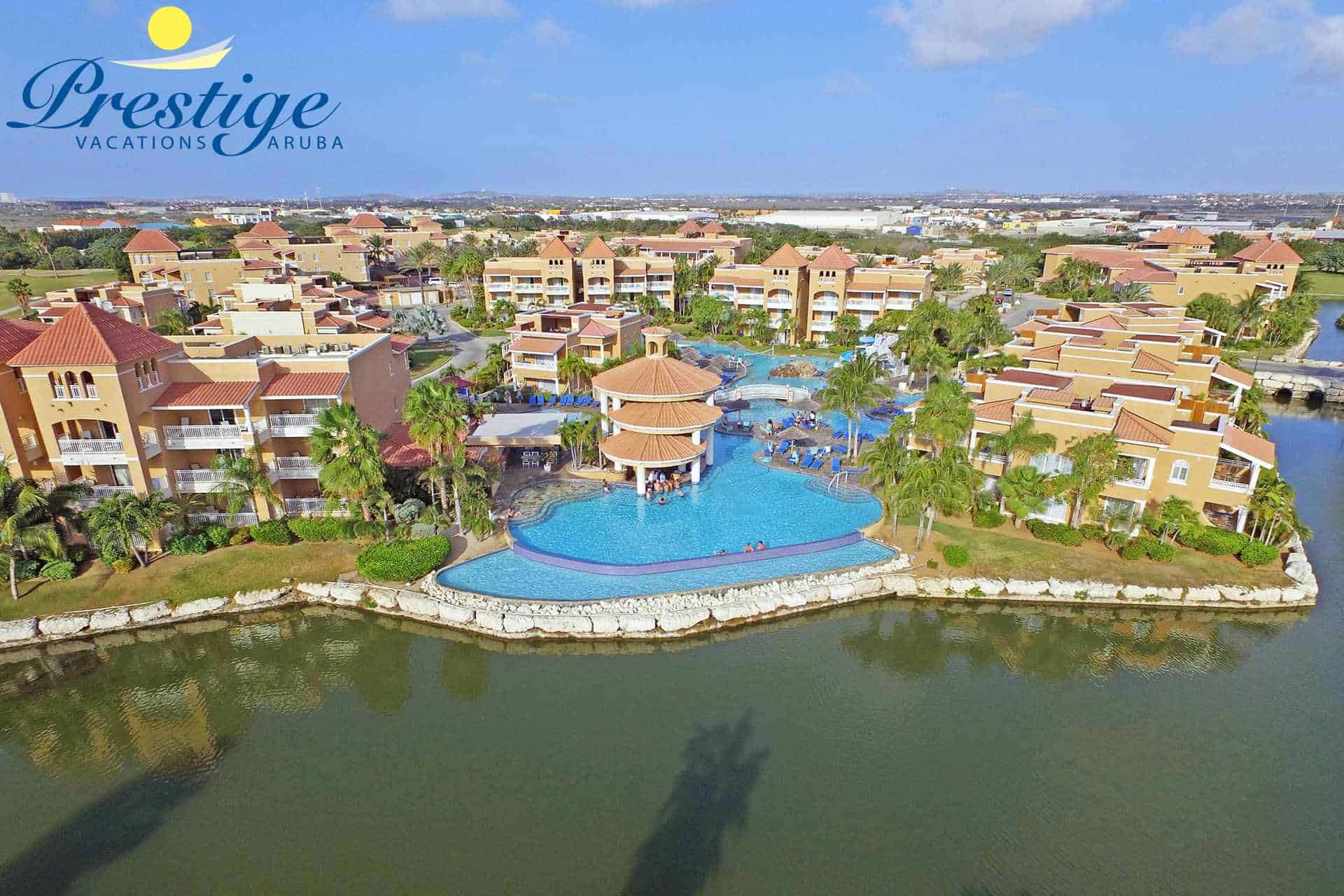 Divi Village Golf & Beach Resort main swimming pool area