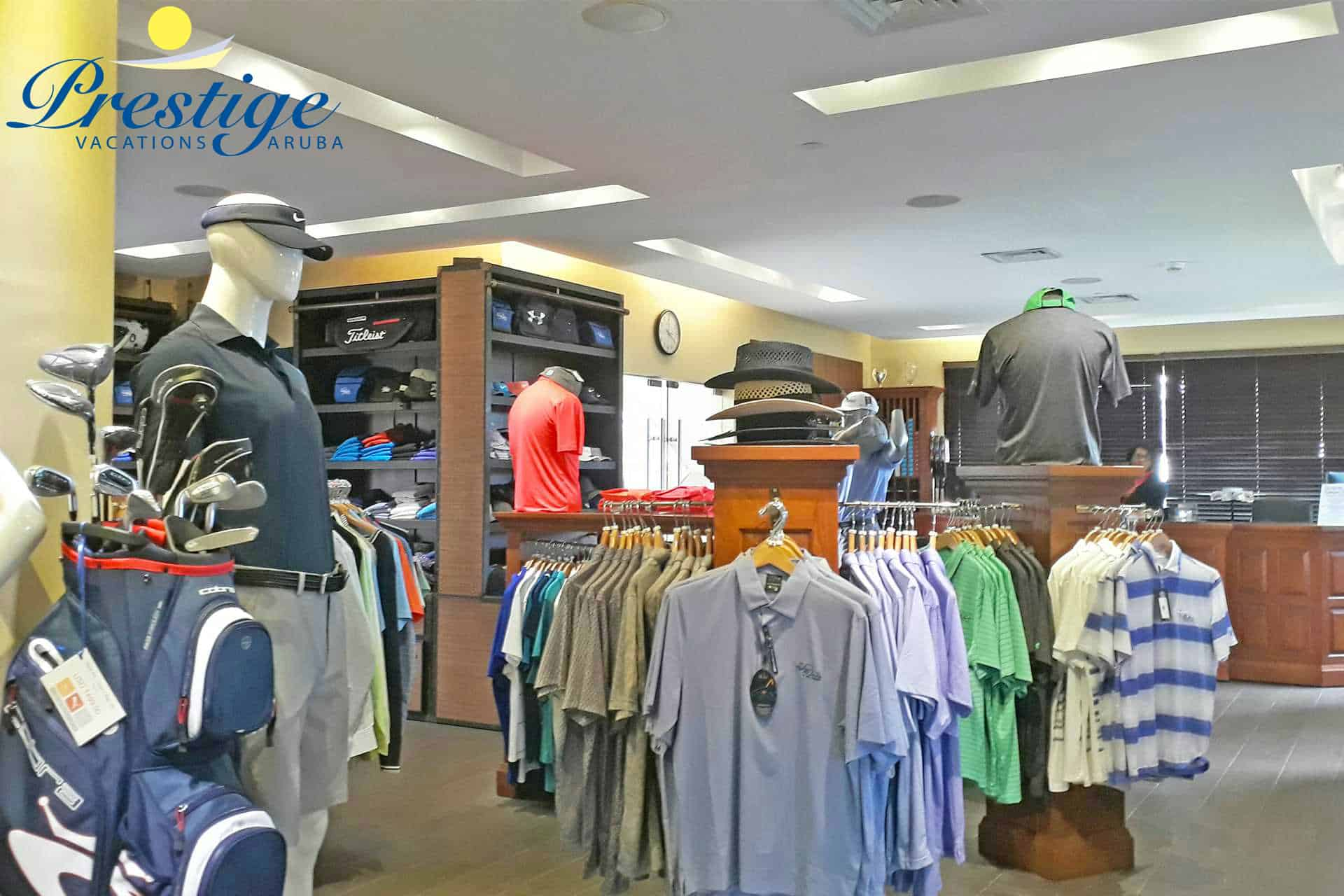 The Divi Golf Pro Shop offers golf equipment & accessories, name-brand apparel for men and women
