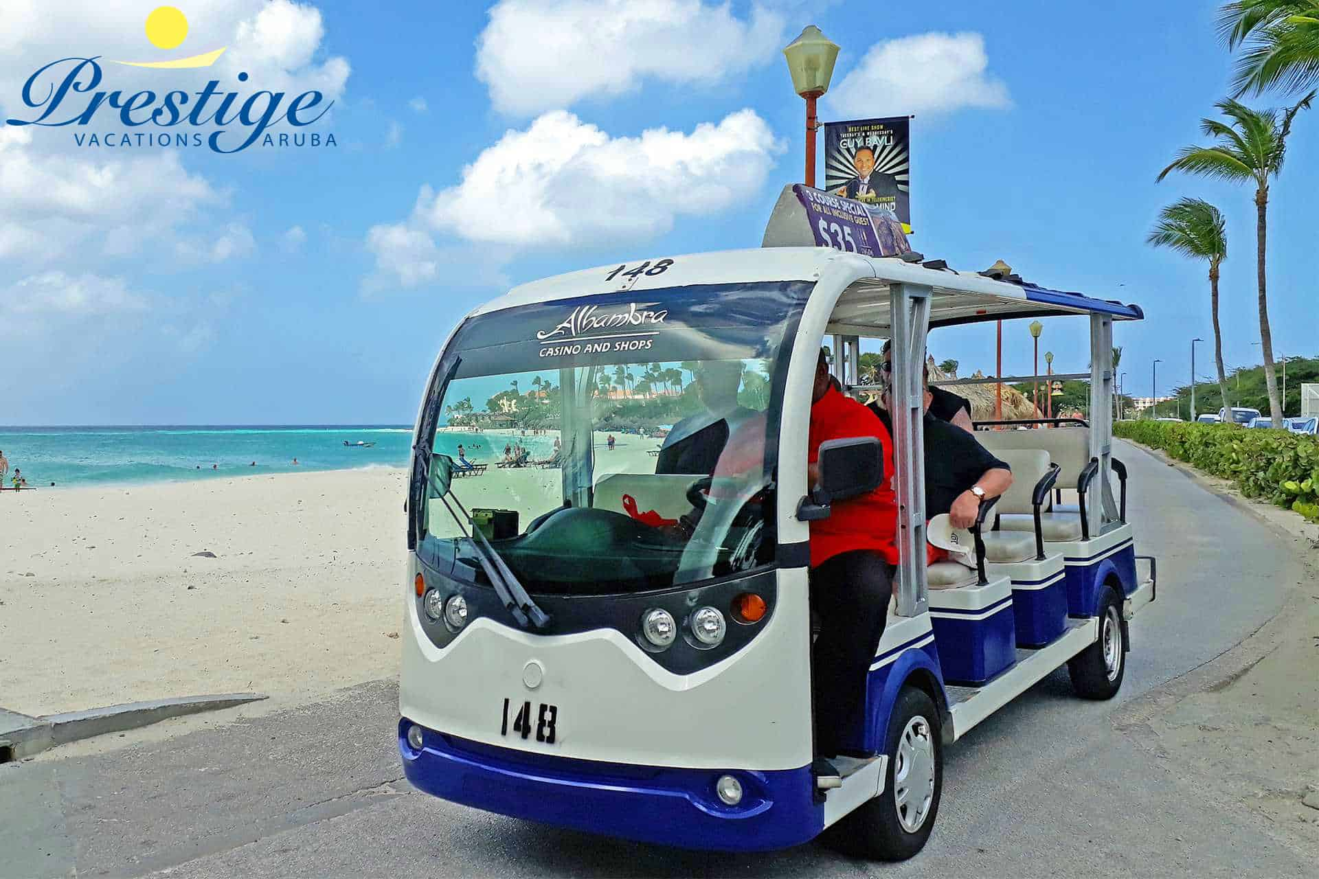 Enjoy being be shuttled around with the free Divi Shuttle Transportation services