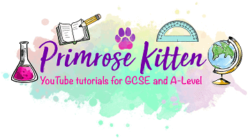Logo of Primrose kitten, an online revision website for students
