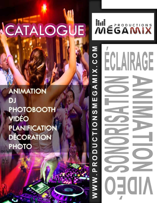 Catalogue Animation/DJ