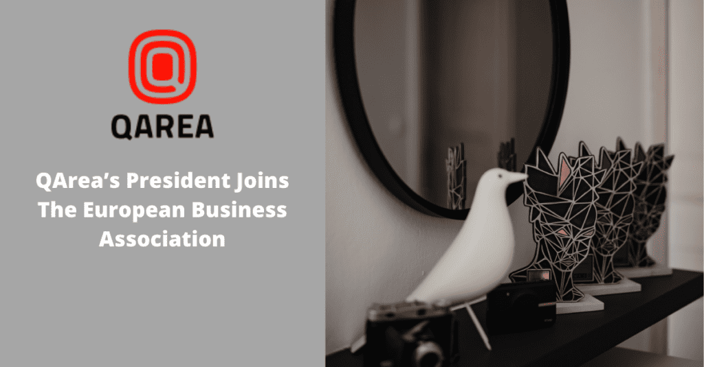 QArea's President Joins The European Business Association