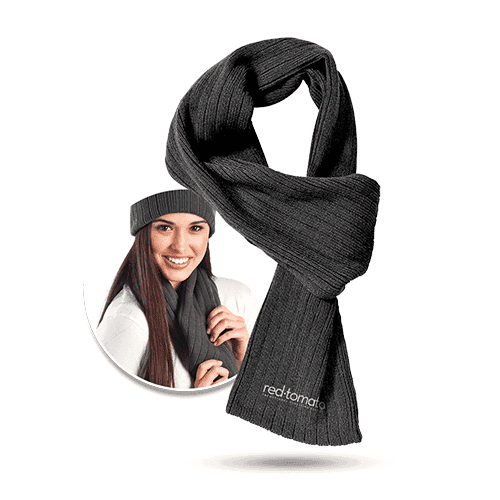 cable knit scarf -winter promotional products Australia