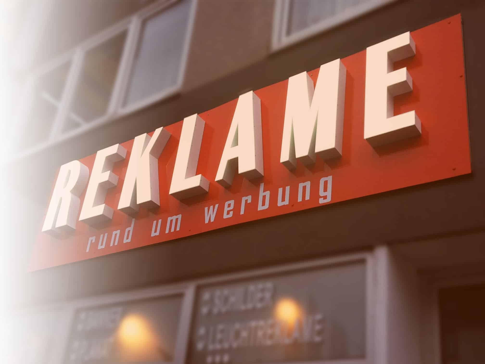LED 3D Buchstaben Reklame Bremen