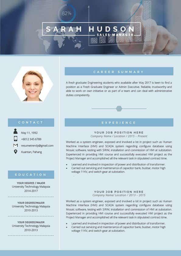Sales & Marketing Resume Templates