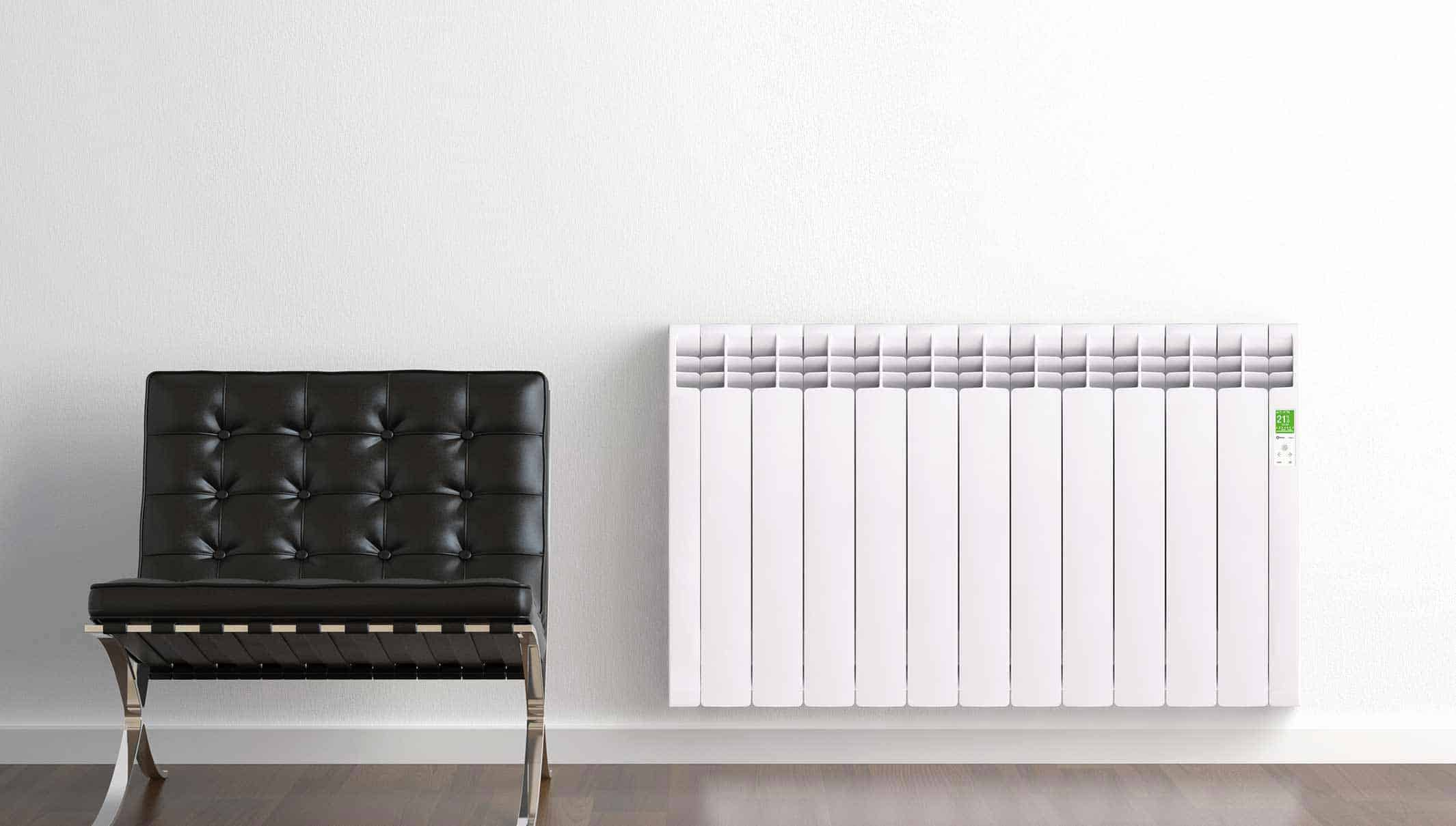 Rointe electric radiator aluminium oil filled smart enabled wifi white