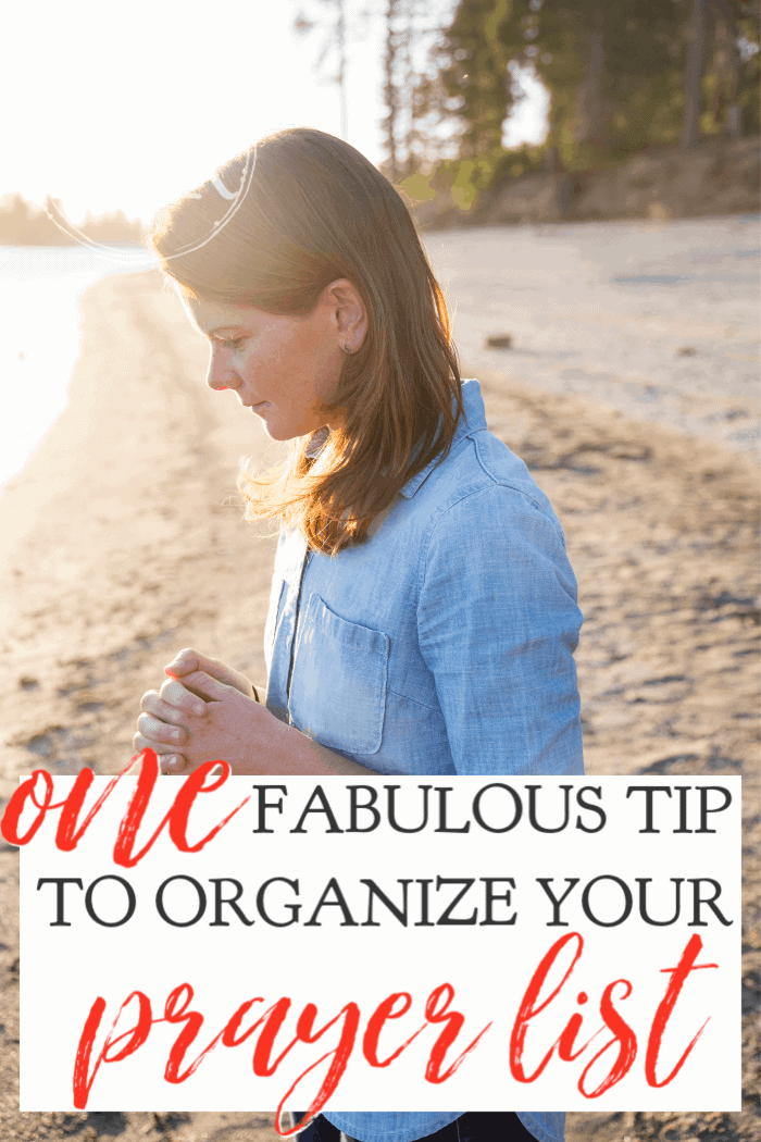 If you find that you often forget to pray for needs you've promised to hold in prayer, here is one fabulous tip to help organize your prayer list. #alittelrandr #prayer #warroom #quiettime #prayerlist via @alittlerandr