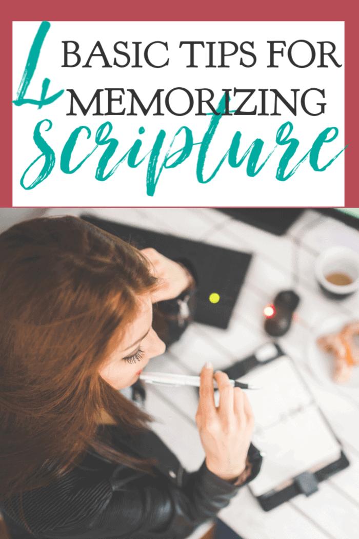 Memorizing Scripture is an essential discipline for all Christians. These basic tips make memorizing Scripture is so much easier. #alittlerandr #memorizing #Bible #quiettime #warroom via @alittlerandr