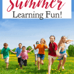 While structuring summer break isn't a good idea for young children, you can still find ways to make summer learning a fun time. #language #languagedevelopment #MERLD #homeschool #specialeducation