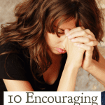 Homeschooling can at times be intimidating and discouraging. Here are 10 encouraging Bible verses for homeschool moms for difficult times. #alittlerandr #homeschool #bible #verses #encouragement #inspiration