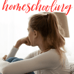 If you're weary, discouraged and ready to quit homeschooling, here are three important truths I learned that helped me keep going to the end. #alittlerandr #homeschooling #homeschoolmom