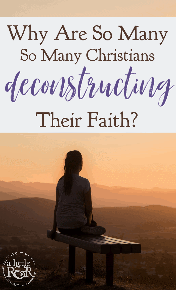 The Bible tells us that in the last days we will see many Christians deconstructing their faith. But here's the warning that comes with it. #alittlerandr #deconstructing #faith #Isaiah #heaven #hell via @alittlerandr