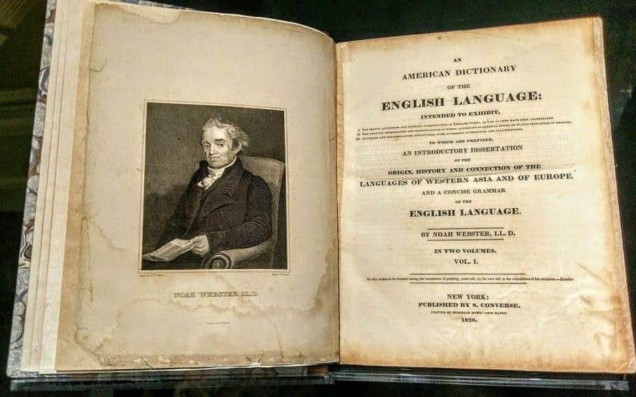Noah Webster's 1828 American Dictionary