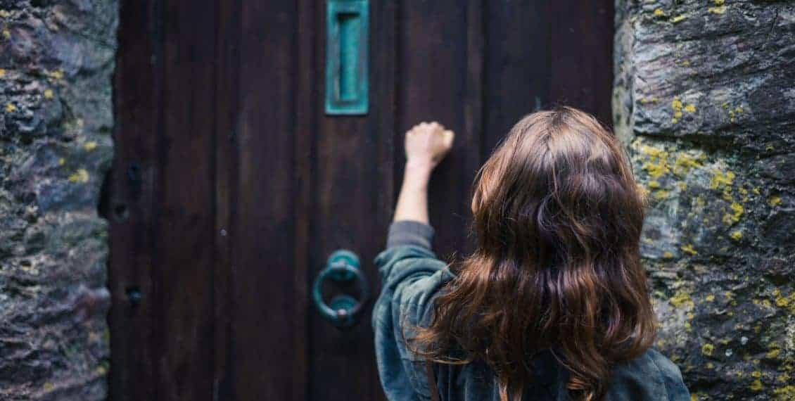 Knock and it shall be opened unto you