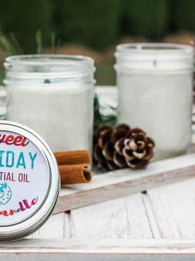 DIY Cinnamon Candles with Essential Oils