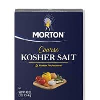 Morton Coarse Kosher Salt Box, 48 Ounce