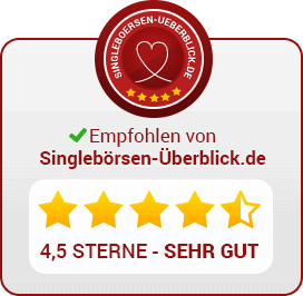 4,5 Sterne - JobSingles.de